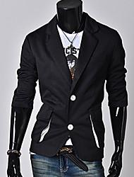 / chaqueta trabajo ordinario de los hombres casuales