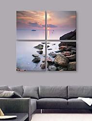 e-Home® tela sei la pietra del sole set pittura decorativa di 4