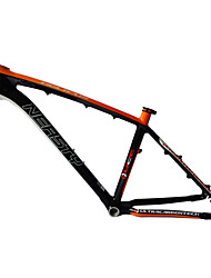 "Neasty Brand MB-NT02 Full Carbon Fiber MTB Frame Orange Decal 26er Frame 15""/17"""