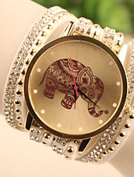 Fashion Women's Elephant South Korea Style Watch Cool Watches Unique Watches
