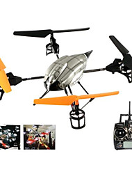 4-channel de 4 eixos de controle remoto wltoys 2.4ghz V222 ufo em forma de mini avião com giroscópio