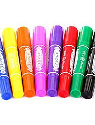 conjunto de 8 cores marcador permanente diferente