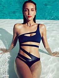 Women's Wireless Bandage Halter Bikinis (Polyester) (More Colors)