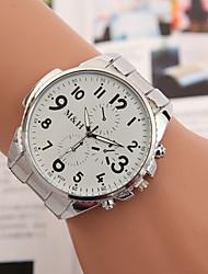 yoonheel Женские Модные часы Кварцевый Металл Группа Серебристый металл