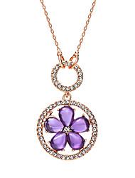 Women's Cubic Zirconia Necklace With Cubic Zirconia