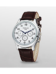 Men's imitation leather Business Watches(Assorted Colors)