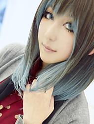 japanse harajuku stijl gemengde kleur 40cm dagelijkse lolita pruik