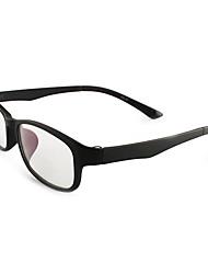 [Free Lenses] TR Rectangle Full-Rim Fashion Prescription Eyeglasses