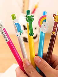 Cute Animals with Wings Stylish Multi Color Ballpoint Pen (Random Delivery)