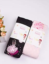 Girl's All Seasons Stretchy Medium Ballet Leggings (Cotton)