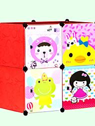 bande dessinée bricolage résine fleur porte de la boîte de stockage des enfants
