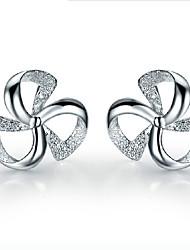 kiki trifoglio fortunata 925 orecchini d'argento