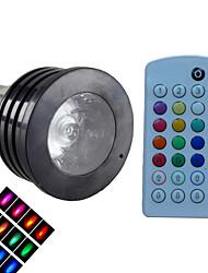 Spot Gradable/Audio-activé/Commandée à Distance/Décorative RGB/Couleurs Changeantes SchöneColors® 1 pièce B B22 4 W 1 LED Haute Puissance