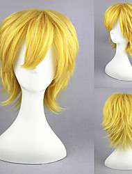 13inch Kingdom Hearts-Ventus Gold Anime Cosplay Wig