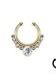 Body Piercing Jewellery Fashion Stainless Steel Crystal Nose Ring Body Jewelry Piercing