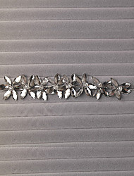 Women's/Flower Girl's Crystal/Alloy Headpiece - Wedding/Special Occasion Flowers