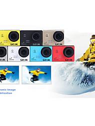 Novatek sj5000 Full HD 1080p 60fps 10x 16MP à prova d'água esportes de ação capacete câmera filmadora