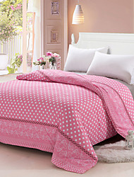 Yuxin® Light Pink Color Duvet Cover Fashion Soft & Comfortable Dots Printed Full/Queen/King Size