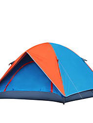 Tripolar Camping tent,Double layer glass fiber rainproof tent pole,The Family Tent FA2119X
