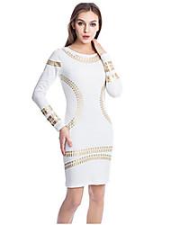 morefeel mince robe de ol imprimé floral des femmes