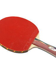 Double Fish 4A-C Basswood Shake Handle Offensive Table Tennis Paddle