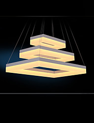 LED Pendant Lights Lighting Modern Acrylic Lamps Luxurious Three Rings Ceiling Light Fixtures 806040