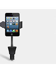 Car Navigation Cradle Phone Car Charger Car Cigarette Lighter 360-Degree Rotation Around 5v 1.5A Interface