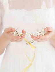 Heavy Handmade 188 Natural Pearls Headpiece-Wedding / Special Occasion / Outdoor Headbands 1 Piece