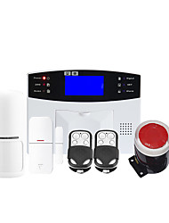 GSM Wireless Home Security System And Alarm Auto-Dial And 99 Wireless Zone