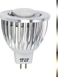 9W Focos LED MR16 1led COB 450-680 lm Blanco Cálido / Blanco Fresco DC 12 / AC 12 V 1 pieza