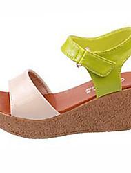 Sandalias Como la Imagen Tacón Cuña para Zapatos de mujer