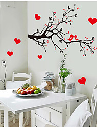 Wall Stickers Wall Decals, Love Tree PVC Wall Stickers