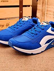 Men's Shoes Black/Blue/Dark Red Flat Heel Fashion Sneakers