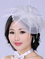 Luxurious Fashion  Simulation Flower Mesh  Pearl  Bridal Headpiece