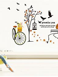 stickers muraux stickers muraux, stickers muraux PVC vélo