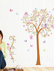 Wall Stickers Wall Decals, Color Tree PVC Wall Stickers