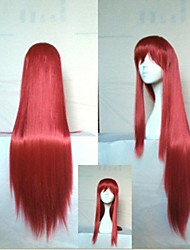 Stylish  Cosplay Wig 18 Inches Long Straight  Synthetic Hair  Animated Wigs Girl's Cartoon Wigs Party Wigs