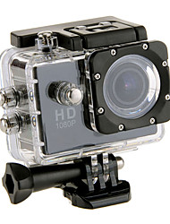 "EOSCN A9 HD1080P 2"" LCD LTPS LCD Waterproof Sports Camera 2/3"" CMOS 5.0MP Action Camcorder - (Assorted Color)"