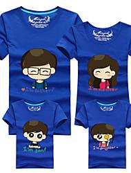 Ensembles de vêtements pour la famille Eté Manches Courtes Coton Moyen Micro-élastique