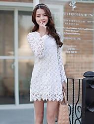 Mini - Vestido - Renda - Forrado