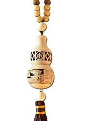 dúo ji mi ®benevolent chengxiang calabaza forma caoba colgante coche decoraciones colgantes