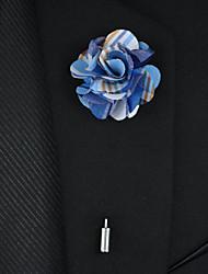 Свадебные цветы Бутоньерки Атлас / Металл 22 см