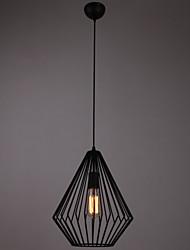 Mini Pendant Diamonds Lamp,1Light,Painting Processing