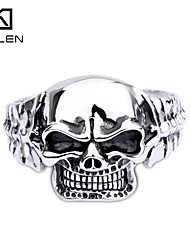 Kalen Men's Jewelry Unique Design Big Stainless Skull Bangle