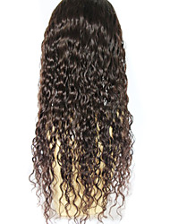 Curly Brazilian Virgin Hair Glueless Lace Front Wigs Human Hair Wigs For Black Women Wigs