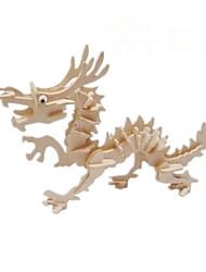 3 d modèle de puzzle dragon