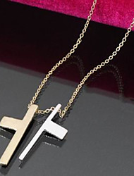 Two-part Alloy Fashion Necklace