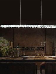 Pendant Lights Crystal/LED Modern/Contemporary Bedroom/Dining Room/Study Room/Office Metal/90-240V