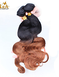 """3Pcs/Lot 10""""-24"""" Unprocessed Malaysian Virgin Hair Two Tone 1b/30 Ombre Body Wave Human Hair Weave"""
