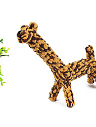 Dogs Toys Chew Toy Rope Sisal Yellow